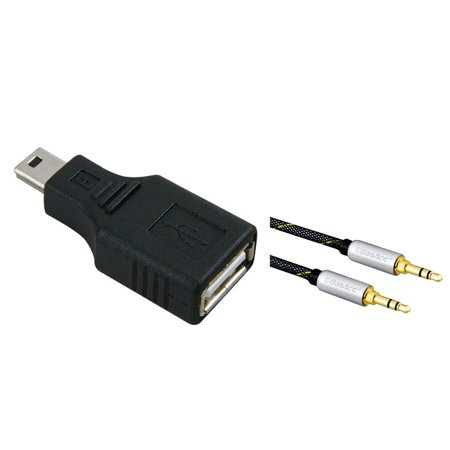 Insten Usb 2 0 Type A To Mini Usb 5 Pin Type B Female Male Adapter