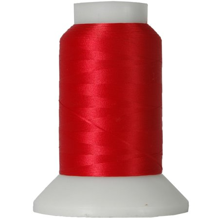 Threadart Wooly Nylon Thread - 1000m Spools - Color 4022 - RED - 50 Colors Available - 3 Spool -