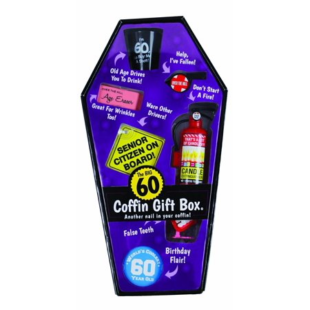 GIFT BOX COFFIN - 60 (Coffin Shaped Halloween Gift Box)