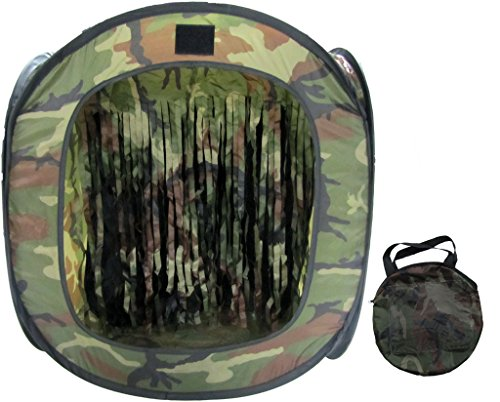 P-Force Portable Airsoft Target w BB Trap Reuseable Compact Easy Pop Up Design by