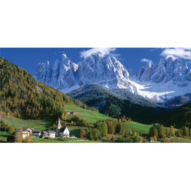 Biggies, Inc. WM-IVY-80 Wall Murals - Italy Valley - Large
