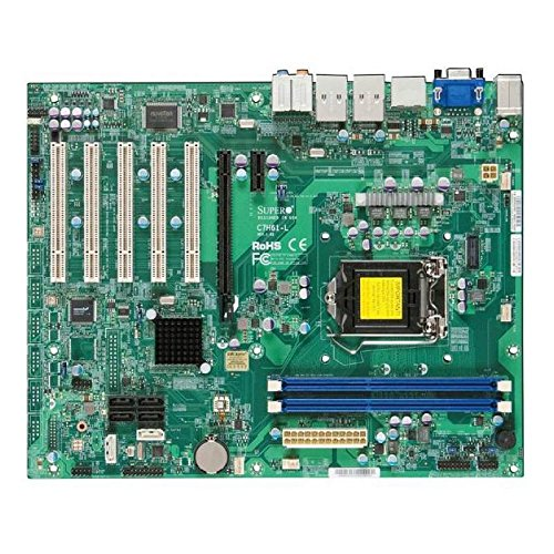 Super Micro C7H61-L-O Supermicro C7H61-L-O LGA1155- Intel H61- DDR3- SATA3- A&2GbE- ATX Motherboard