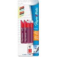 Paper Mate 0.7mm Mechanical Pencil Refills - 0.7 mm Point - #2 - Graphite Black - 105 / Pack