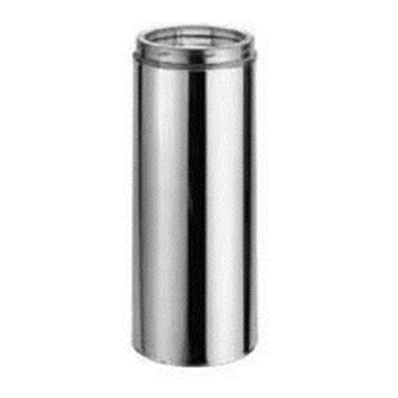 Dura-Vent 9409CF 60'' Stainless Steel Chimney Pipe with Carton Filler with 6'' Inner