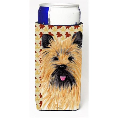 Cairn Terrier Fall Leaves Portrait Michelob Ultra s For Slim Cans - 12 oz.