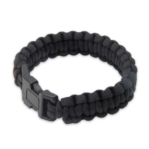 United Cutlery UC2763 Elite Forces Survival Bracelet, Black Multi-Colored