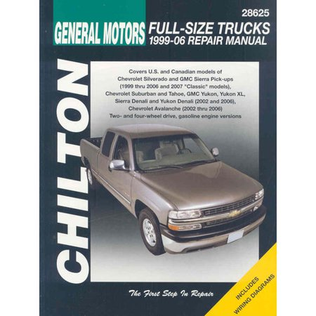 General Motors Full Size Trucks  1999 06  Repair Manual