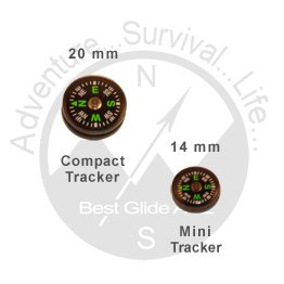 Best Glide ASE Compact Tracker II Button Compass