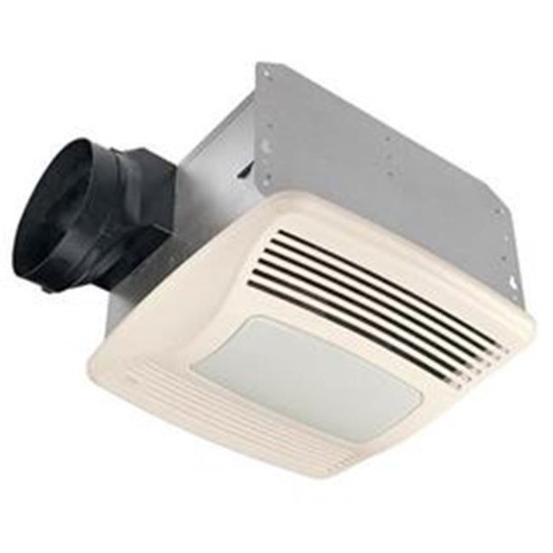 Broan-Nutone QTXEN110SFLT 110 CFM 0.7 Sones Energy Star Humidity Sensing  Fan with 2-18W Fluorescent Light & 4W Night Light - Walmart.com -  Walmart.comWalmart