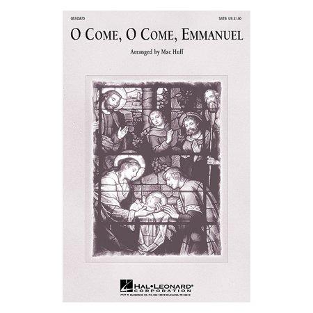Hal Leonard O Come, O Come, Emmanuel SAB Arranged by Mac (O Come O Come Emmanuel Violin And Piano)