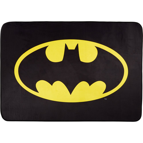 "Batman Heat Transfer Accent Rug, 3'4"" x 4'8"""
