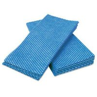 Cascades Busboy Foodservice Towels, Blue/White, 12 x 24, 200 Towels