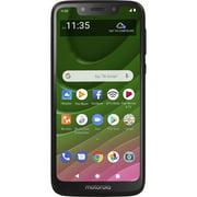 Walmart Family Mobile Moto G7 Optimo, 32GB, Black- Prepaid Smartphone