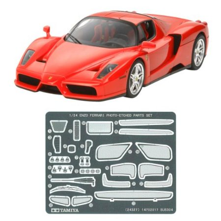Enzo Ferrari (w/Etching parts) (Model Car) Multi-Colored