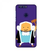 Huawei Honor 8 Case, Premium Handcrafted Designer Hard Snap on Shell Case ShockProof Back Cover with Screen Cleaning Kit for Huawei Honor 8 - Lawyers 1