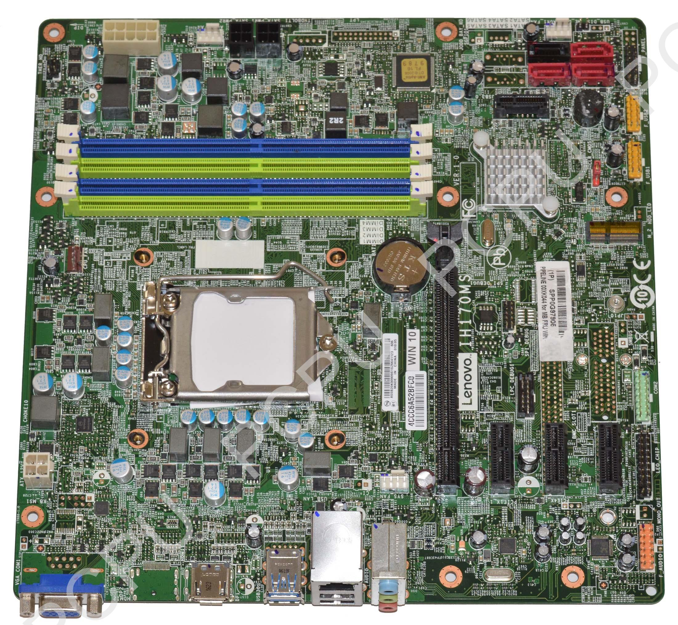 00XK044 Lenovo Ideacentre 700-25ish Intel Desktop Motherboard s115X