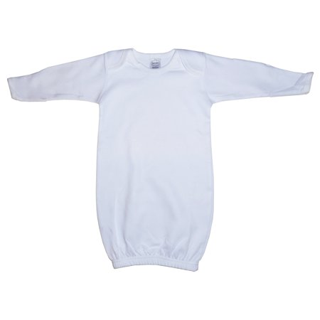 Infant White Gown - White Gown