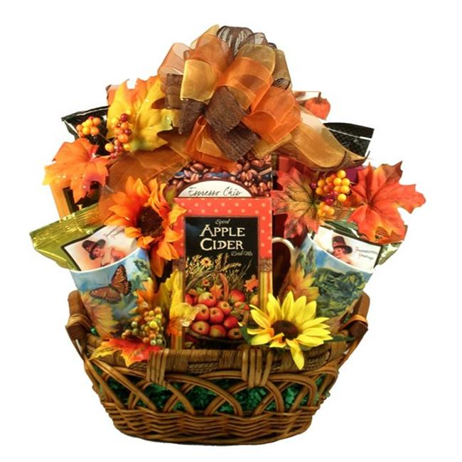 Gift Basket Drop Shipping ThCoOfFa-Sm The Colors Of Fall, Thanksgiving and Fall Gift Basket - Small