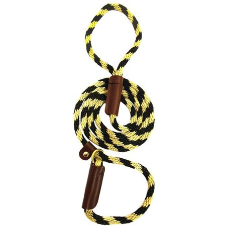 Lone Wolf 3649-MG Lone Wolf Solid Round 0.38 in. Braided Rope Lead with Slip, Mardi Gras - image 1 de 1