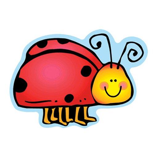 Frank Schaffer Publications/Carson Dellosa Publications Ladybugs Bulletin Board Cut Out