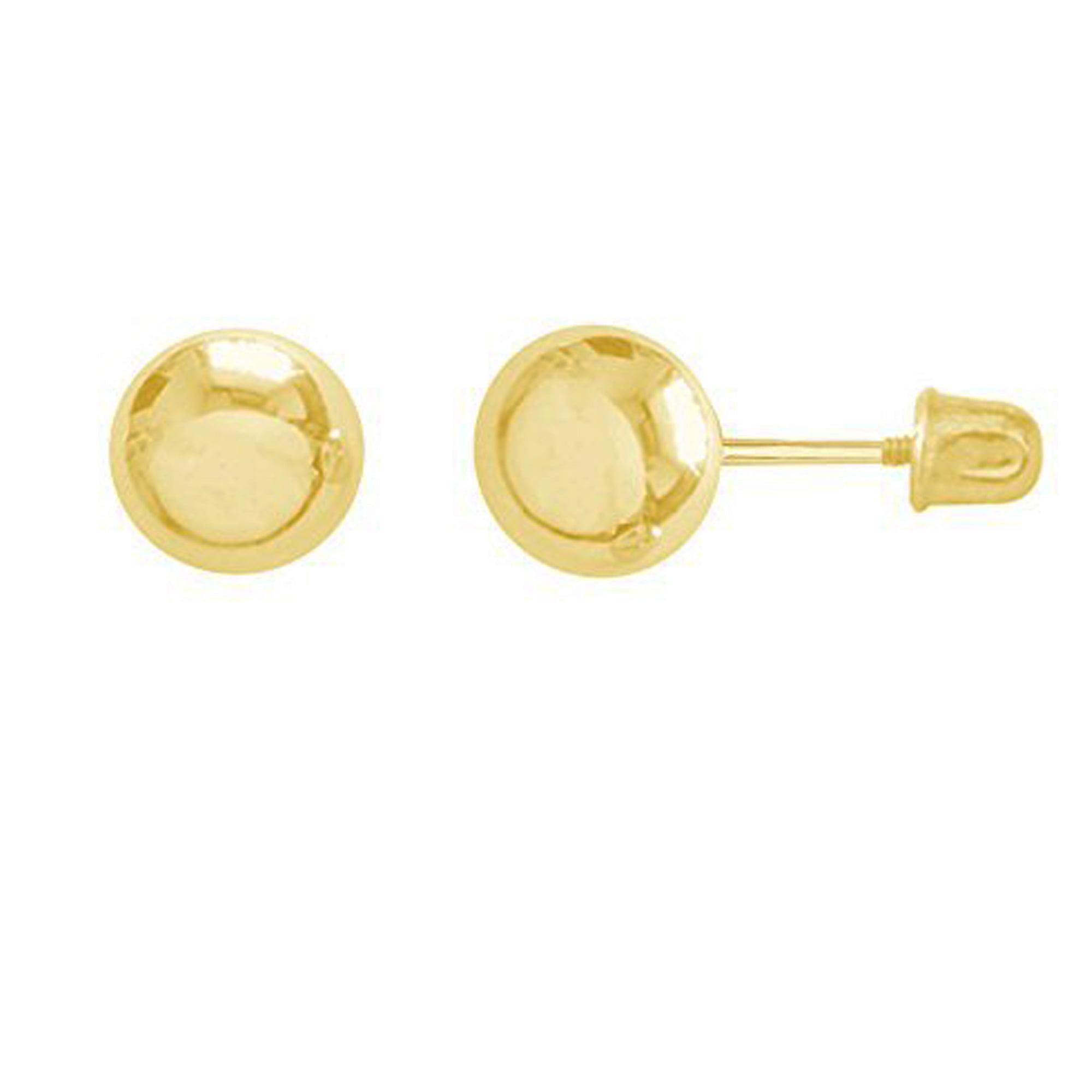 """14K Gold Hoops Tubular Hoop /""""U/"""" Wire Earrings 16mm"""