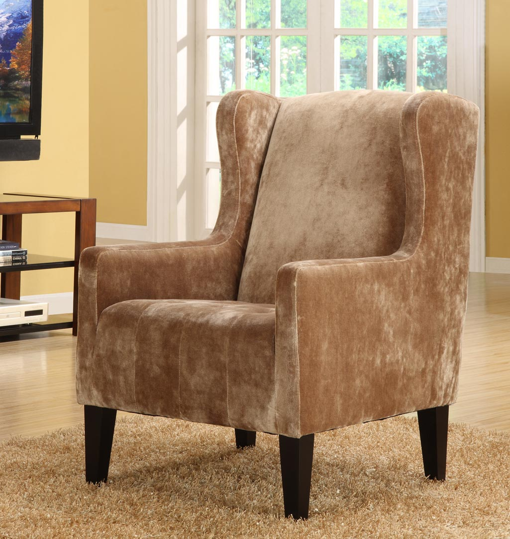 Madera Club Chair-Color:Brown