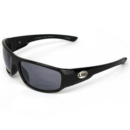 LSU Tigers NCAA Medallion Sunglasses - No (Lsu Sunglasses For Men)