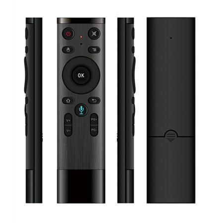 Q5 /2.4GHz WIFI Voice Remote Control Air Mouse With USB Receiver For Smart TV Android Box Networked Set-top Box (Remote Control Android Tv)