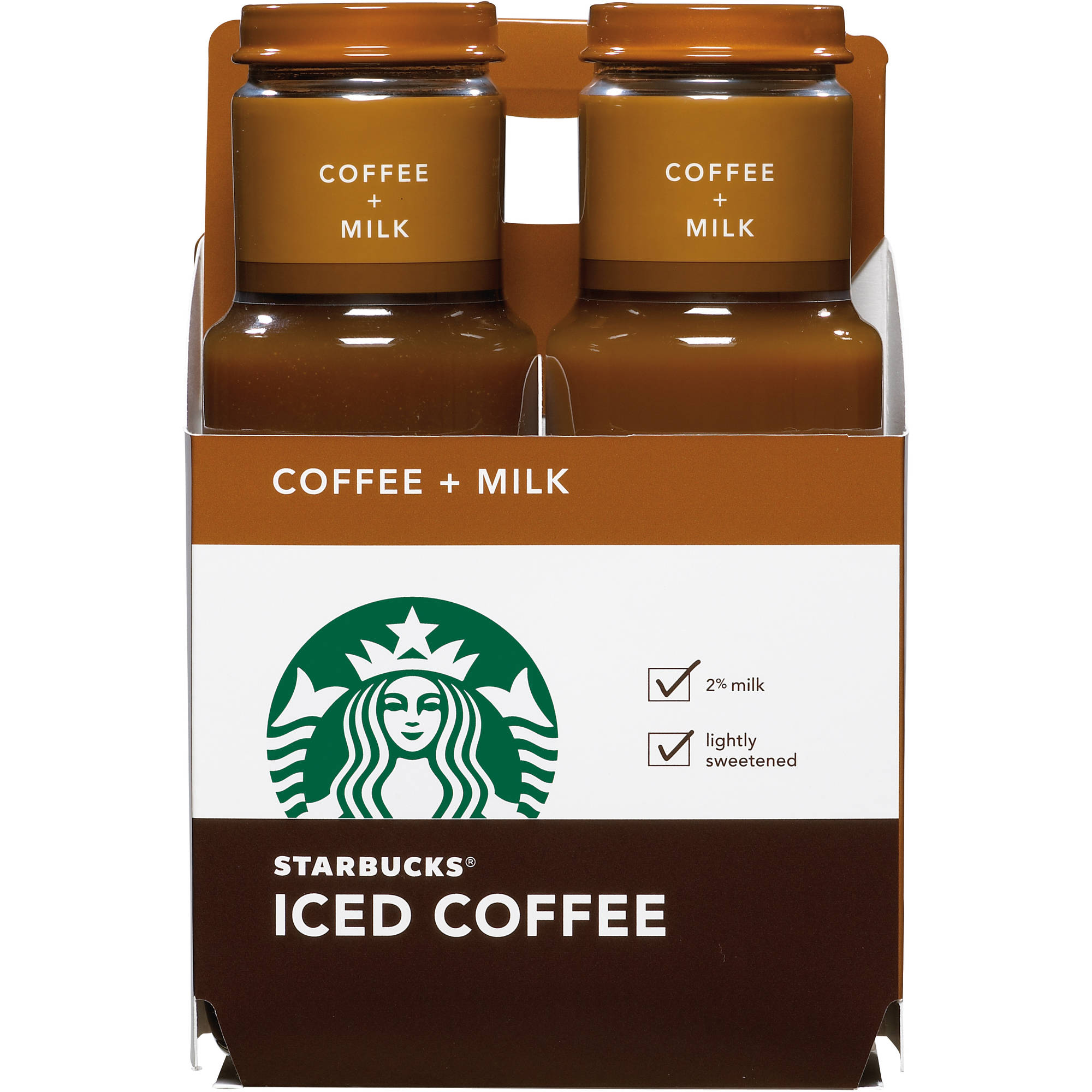 Starbucks Coffee + Milk Iced Coffee, 11 fl oz, 4 ct