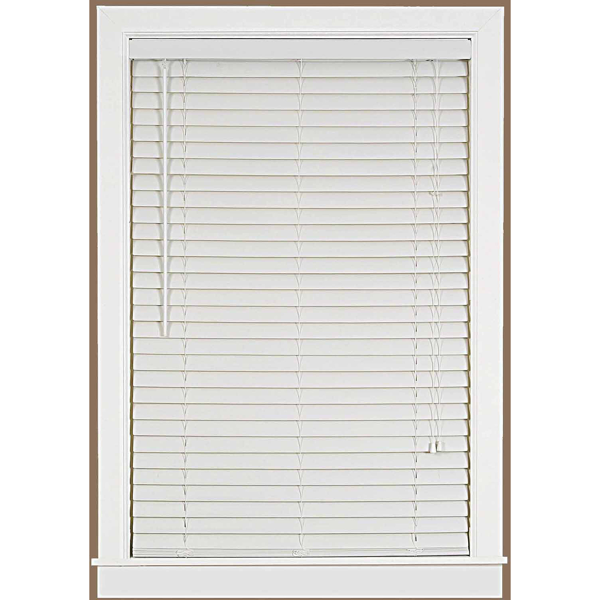 "Luna 2"" Vinyl Venetian Blind with 2"" Valance"