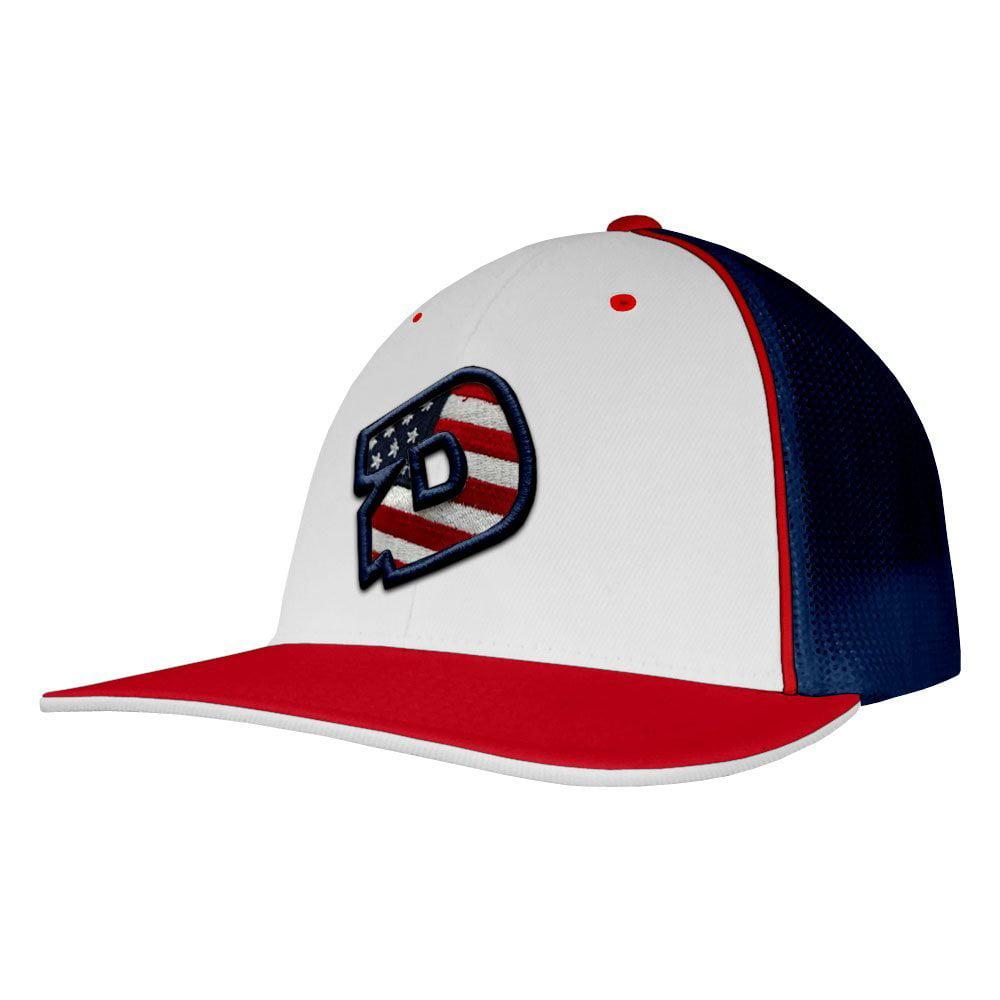 1b07209f81e D logo usa baseball softball trucker hat pacific headwear model demarini  ship jpg 450x450 404m trucker