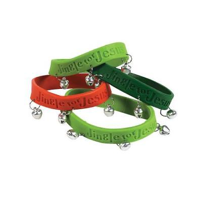 IN-4/3909 Jingle for Jesus Bracelets with Bells