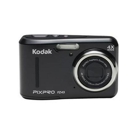 Kodak PixPro FZ43 Compact Digital Camera 16MP 4X Zoom HD 720P (Black) ()