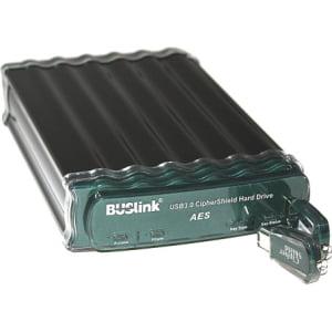 2TB USB POWERED CIPHERSHIELD USB2.0/USB3.0/ESATA 256 BIT AES HDD