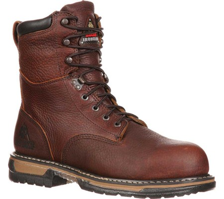 "Men's Rocky 8"" IronClad 5693 Economical, stylish, and eye-catching shoes"