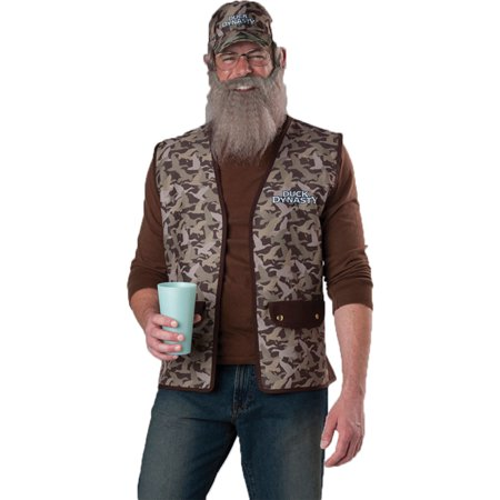 Morris Costumes Duck Dynasty Uncle (Children's Uncle Si Costume)