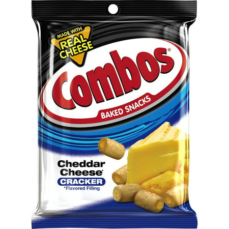Combos Cheddar Cheese Backed Snack Cracker, 6.3 Oz. - Top 20 Halloween Snacks