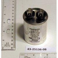 Ruud Air Conditioning 432513608 15MFD 370V Oval Run Capacitor 2PK