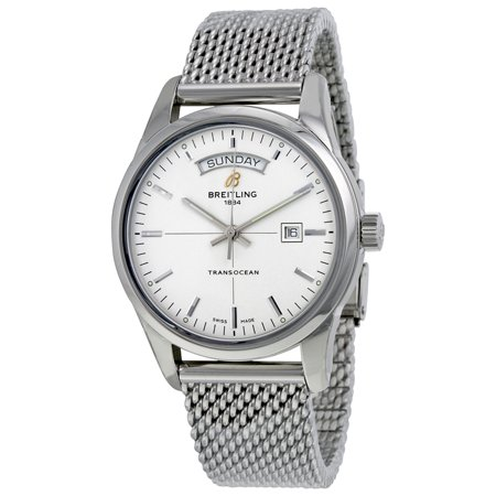 Breitling Transocean Day Date A4531012/G751/154A - 43mm / Silver Breitling Transocean Day Date A4531012/G751/154A - 43mm / Silver