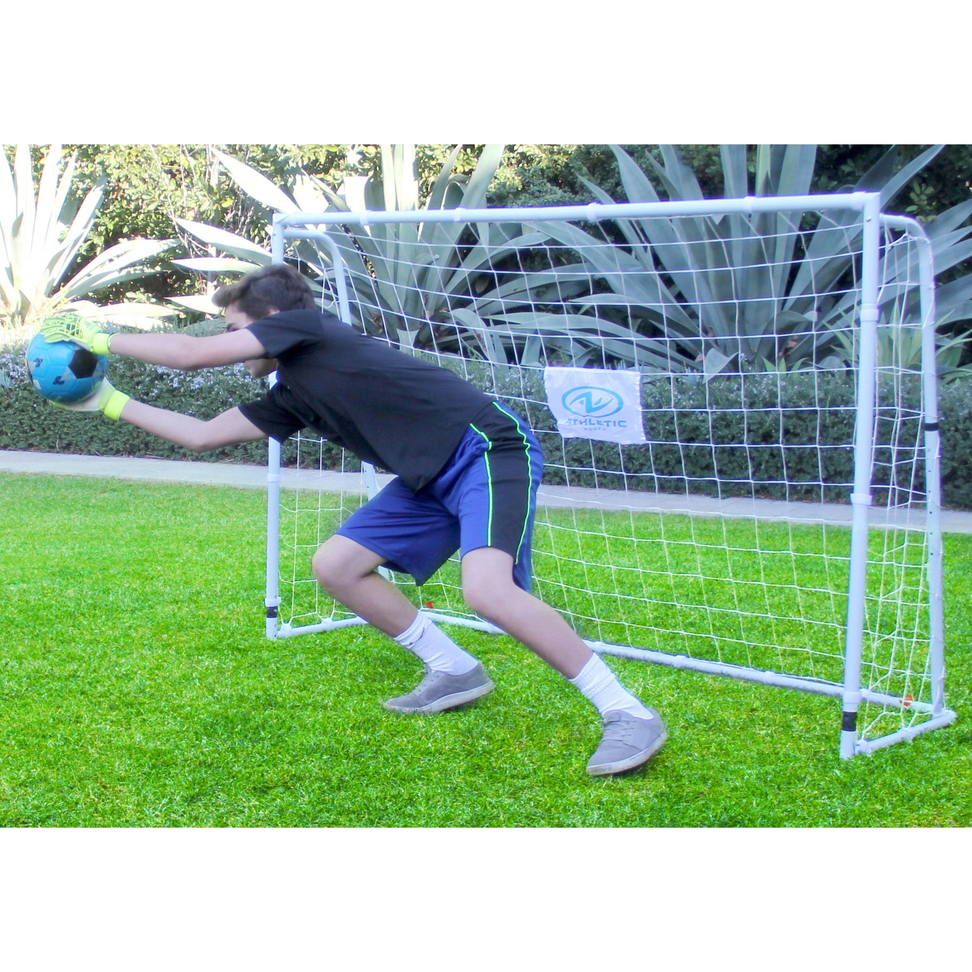 Athletic Works 4' x 6' Deluxe Soccer Goal by Sportspower Limited