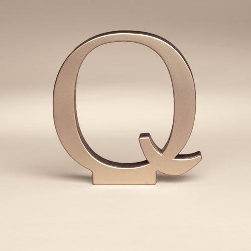 Bakery Crafts Monogram Q Wedding Topper, 1ct
