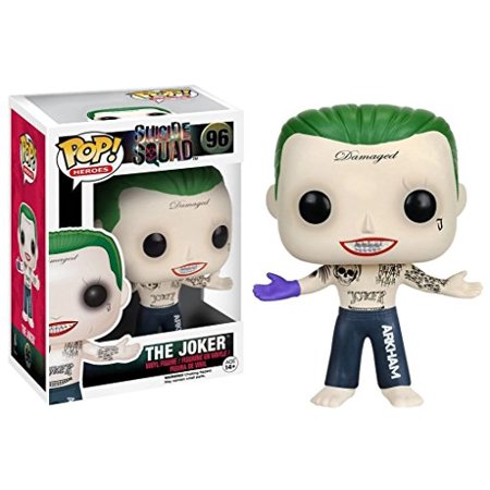- Suicide Squad - Joker Shirtless POP Figure Toy 3 x 4in