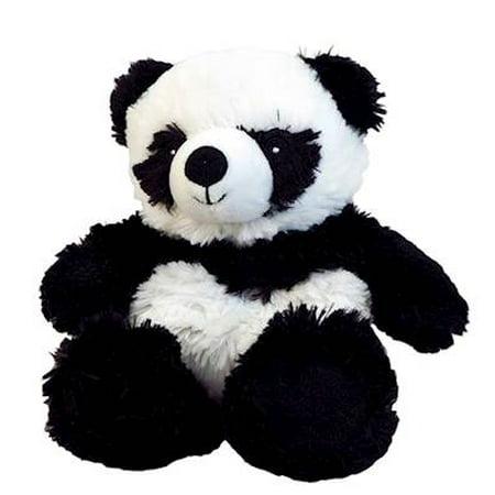 PANDA JUNIOR WARMIES Cozy Plush Heatable Lavender Scented Stuffed Animal - Panda Stuffed Animal