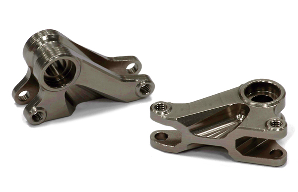 Integy RC Toy Model Hop-ups T3979GUN Billet Machined T2 Front Rocker Arm for 1 16 Traxxas... by Integy