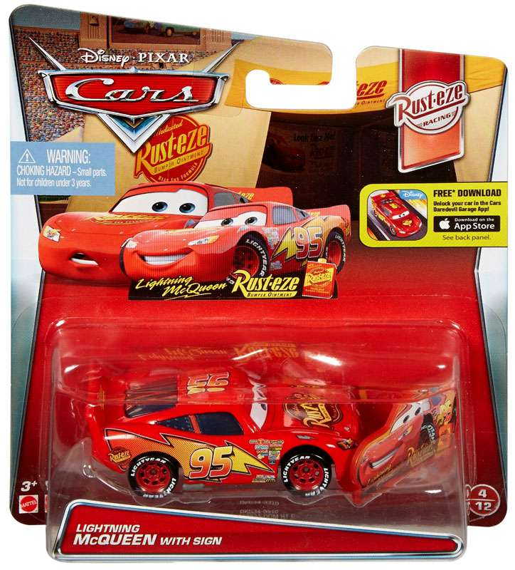 Toy Cars At Walmart : Disney cars race o rama radiator springs lightning mcqueen