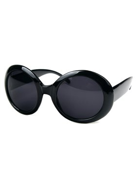 af8f508eff58 Product Image Womens Fashion Circle Round Jackie O Bold Chic Sunglasses P547