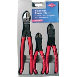 3-Piece High Leverage Diagonal Cutter Set