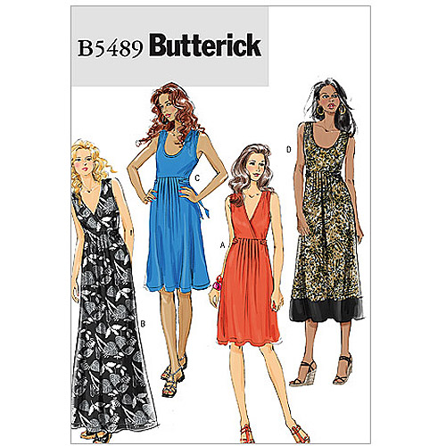 Butterick Pattern Misses' Dress, E5 (14, 16, 18, 20, 22)