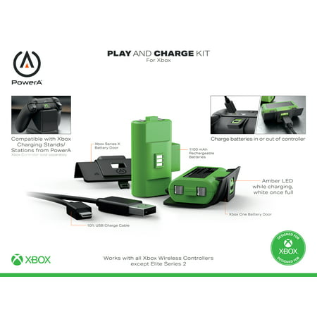 PowerA Play & Charge Kit for Xbox