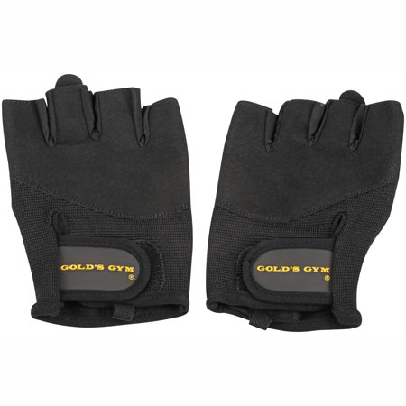 Gold's Gym Classic Training Gloves with Half-Finger
